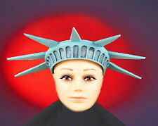 STATUE OF LIBERTY CROWN TIARA LADY LIBERTY COSTUME HAT CROWN RUBBER 55688