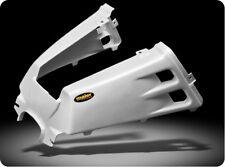 NEW YAMAHA BANSHEE YFZ 350 PLASTIC WHITE CARBON FIBER GAS TANK COVER PLASTICS