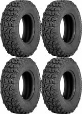 Four 4 Sedona Coyote ATV Tires Set 2 Front 25x8-12 & 2 Rear 25x10-12