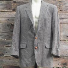 Vintage Hunt Valley for Hornes Tweed Handwoven 100% Wool Blazer Mens