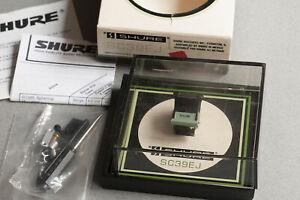 SHURE SC39EJ NOS!!! New Shure cartridge with original SS39EJ stylus