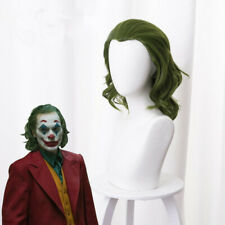 2019 Joker Wig Arthur Fleck Wig Joaquin Pheonix Wig Cosplay Wig Mixed Green Wig