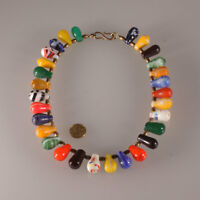 7347 Old Trade beads glass Bohemian  Wedding