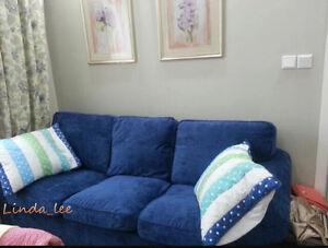 Custom Made Cover Fits IKEA EKTORP Sofa, ektorp 3 Seat sofa cover, ektorp cover