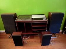 ENSEMBLE BANG OLUFSEN BEOCENTER 7002 + MEUBLE + 2 X BEOVOX S75 + 2 X BEOVOX S30