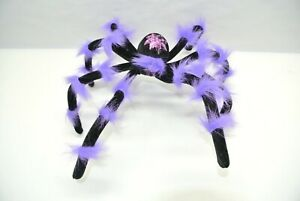 "Large 12"" Purple Spider Decoration"