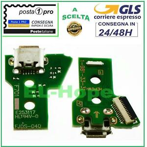 CONNETTORE RICARICA MICRO USB PCB 12 PIN JDS-040 PER CONTROLLER JOYPAD SONY PS4