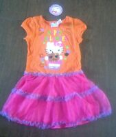 Hello Kitty Halloween Tutu Dress, NWT, Sz 5T