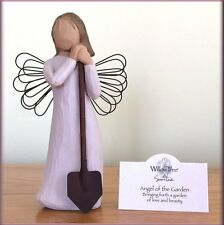 ANGEL OF THE GARDEN WITH SHOVEL FROM WILLOW TREE® ANGELS FREE U.S. SHIPPING