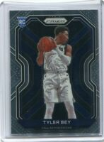 TYLER BEY RC 2020-21 PANINI PRIZM BASE ROOKIE CARD #251 DALLAS MAVERICKS  2