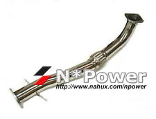 MITSUBISHI LANCER EVO 7 8 9 CT9A 4G63 TURBO STAINLESS STEEL 80MM FRONT PIPE