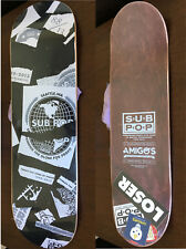 Sub Pop Skateboard NEW SEALED Spanning the Globe 25th Jubilee #39/40 Amigos