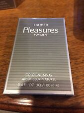 PLEASURES  Estee Lauder  Cologne for Men  3.4 oz  BRAND NEW IN RETAIL BOX