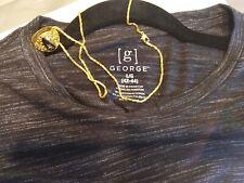 Retro George Mens Large Multi Colored Summer Short Sleeve Pocket Tee +FreeGift