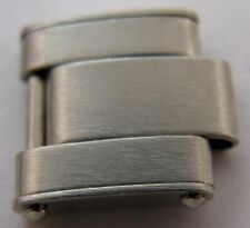 Rolex oyster 6634 riveted bracelet link with spring, all stainless steel 10.6 mm