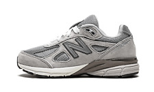"NEW BALANCE 990 GREY KID LACE ""KJ990GLP"" MULTIPLE SIZES UNDER RETAIL FREE SHIP"