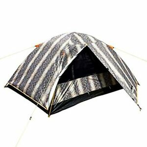 NARMAY Snakeskin Camping Backpacking Two Person Dome Tent 7.2×5×3.6 ft