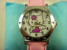 Wholesale Lovely Fashion Wrist Quartz Watch Wristwatch For Hello Kitty + Pendant