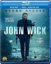 John Wick Blu-ray/DVD NEW Keanu Reeves, Michael Nyqvist