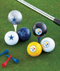 NFL FOOTBALL TEAM LOGO GOLF BALLS