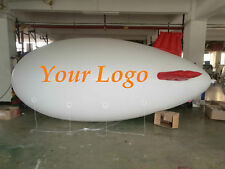 7M 22ft Inflatable Advertising Blimps /Flying Giant Helium Airplane /Free Logo