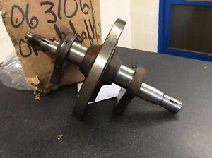 norton jubilee 250 22044 Crank Genuine New Old Stock
