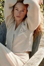 *NWT Love Shack Fancy Oatmeal/Beige Avignon 100% Cashmere Cardigan Size XS $495