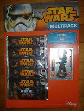 Star Wars Rebel Attax Serie 1 , 4x Multipack,  + limitierte Karte SABINE WREN