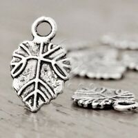 100pcs Charm Pendant Jewelry Finding Antique Tibetan Silver Heart 11x9.5x2mm BW