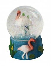 Official Ravensden Snow Globe - 8cm - Pink Flamingo - NEW - Collectable