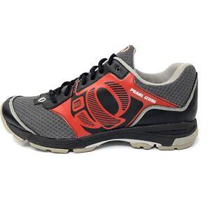 Pearl Izumi X-Road Fuel II Cycling Shoe Men's Sz 47 US 12.5 M Gray Red Sneaker