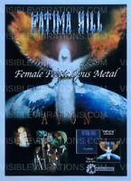 Fatima Hill Aion Flyer Japan 2002