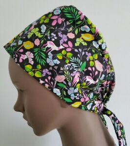 OP Haube Chemo Kopfbedeckung - Arztparxis Tierarzt auf Wunsch personalisiert