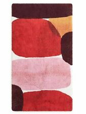 Abyss & Habidecor GRAZIA Bath Rug PINK RED PURPLE NEW $449