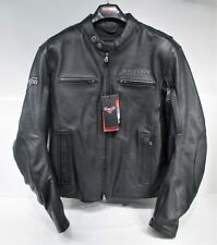 Genuine Victory Motorcycle Kingston Leather Riding Jacket Mens M 286372803 New