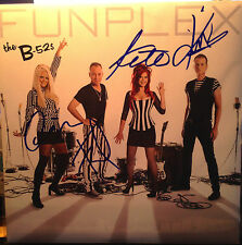 B52S SIGNED LP RECORD WILD PLANET SIGNED BY ALL 4 MEMBERS RARE IN PERSON