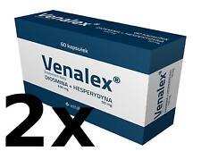 2x Venalex- Diosmin 450 mg + Hesperidin 50 mg 120 Kapseln für 60 Tage