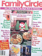 Family Circle Magazine do Better Christmas December 23, 1986 091717nonrh
