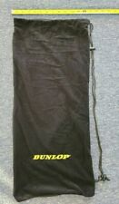 Dunlop Srixon Soft Tennis Bag Racquets Full Cover Black Drawstring