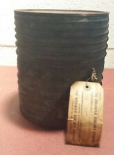 Rare DuPont Rifle Powder Keg (Empty)Virginian Railway Shipping Tag Country Store
