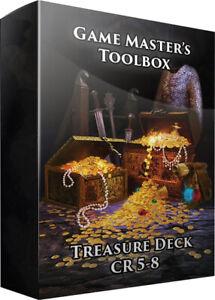 Game Masters Toolbox: Treasure Trove CR 5-8