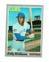 1970 Topps #170 Billy Williams Chicago Cubs
