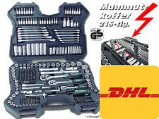 Mannesmann M98430 Steckschlüsselsatz Nusskasten 98430 Werkzeugkoffer 215 Teile