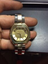 BULOVA ACCUTRON 10k Rolled Gold 2181 Mens Wrist Watch