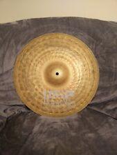 "UFIP 16"" Natural Crash Cymbal, White Logo"