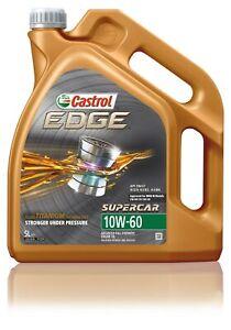 Castrol EDGE 10W-60 Engine Oil 5L 3412396 fits Maserati Ghibli 2.0 24V Biturb...