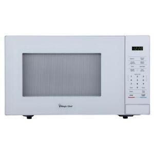 Magic Chef HMM1110W 1.1 Cu.Ft. Countertop Microwave, White