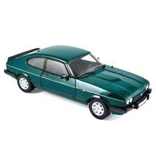 NOREV 1/18 DIECAST 1986 MK3 MKIII FORD CAPRI 280 BROOKLANDS GREEN MET RHD 182718