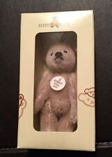 Steiff Club Geschenk 2005 Teddybär silber-grau, 7 cm