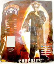 Rubies Horrorland Black Brown Chuckles Costume Robe S 4-6 NIP